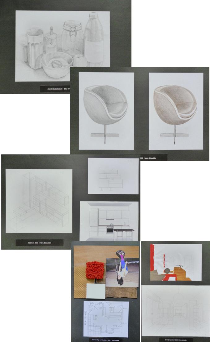 mappe innenarchitektur - mein mappenkurs, Innenarchitektur ideen